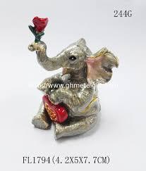 jewelry box favors golden wedding favors gifts elephant trinket jewelry box