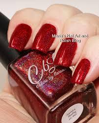 marias nail art and polish blog colors by llarowe santa baby swatches