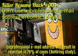 Best Looking Font For Resume by Killer Resume Hacks Epic Cv