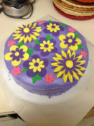 birthday cakes with purple flowers image inspiration of cake and
