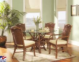 Dining Room Tables Made In Usa Caliente Sectional Rattan And Wicker Sunroom Set From Classic