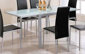 table cuisine verre table cuisine verre table de salle a manger en bois maisonjoffrois