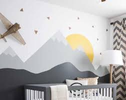 Full Wall Stickers For Bedrooms Nursery Wall Decals Etsy