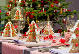 christmas decoration table bibliafull com