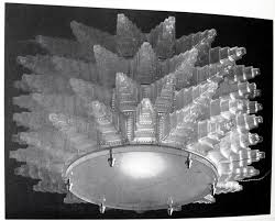 Wilshire Chandelier Photos Of The 1928 Lalique Chandeliers And Sconce From The Oviatt