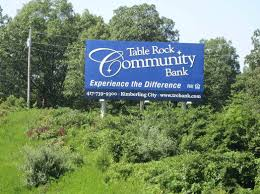 Table Rock Community Bank by Ayres Outdoor Branson West Missouri