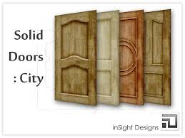Exterior Solid Wood Doors by Plain Solid Wood Exterior Doors Examples Ideas U0026 Pictures