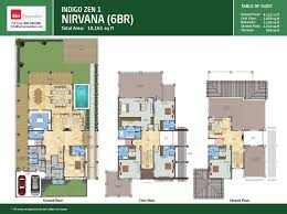 6 Bedroom Floor Plans Floor Plans Dubai Golf City Dubai Real Estate