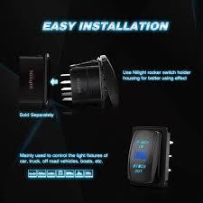 nilight momentary laser rocker switch 7pin winch in winch wiring