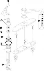 how to repair single handle kitchen faucet inspiring faucet design epic moen single handle kitchen faucet