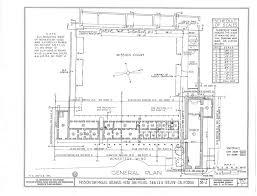 mission san diego de alcala floor plan san miguel de arcángel california missions resource center