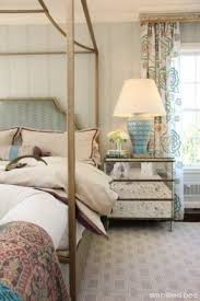 Mirrored Canopy Bed Mirrored Bed Side Table Foter
