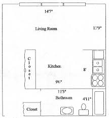 Studio Apartment Floor Plan by Pine Meadows Studio Apartment Studio Apartment Rentals Joliet Il