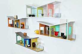 modern house shelves modular 4