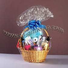 gift plastic wrap shrink wrap basket bag yuyao wanji gift packaging co ltd