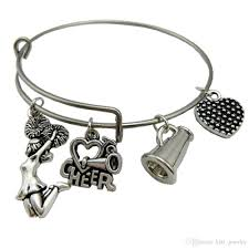 stainless steel bangle charm bracelet images New arrival 8 types silver plated diy charms bracelet invisible jpg