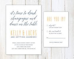 Fun Wedding Invitations Funny Wedding Invitation Aw Shucks Postcard Style Corn