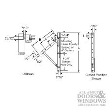 Awning Window Hinge Window Hinges 10 Inch Track Truth 13 13 E Gard