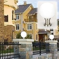 12v outdoor wall lights 110v 220v 12v 24v landscape lawn sward garden fencing waterproof