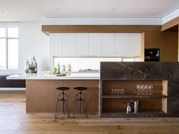 modern timber kitchen designs flush cabinets hood kitchen design striped roman shades stainless
