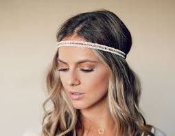 hippy headband bead hippie headband 3 colors available lovmely