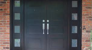 Double Barn Doors by Barn Door Hardware For Double Doors 10ft12ft Black Rustic Double