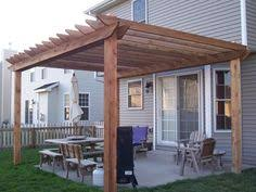 Attached Pergola Plans by Pergola Attached To The House Nice Touch Outdoor Living