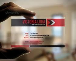 fresh transparent business card template da1s1 u2013 dayanayfreddy