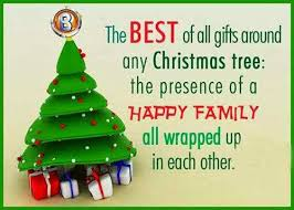 merry wishes for family merry