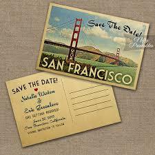 vintage save the date san francisco save the date postcard vintage travel san vintage