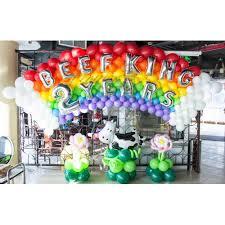 restaurant anniversary balloons decorations dubai balloons