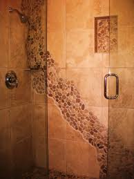 River Rock Bathroom Ideas River Rock Bathroom Ideas Our Stone River In The Shower House