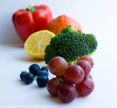eat the rainbow colorful fruits and veggies list