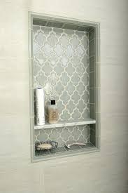 recessed bathroom tile niches indented shelves bathroom google