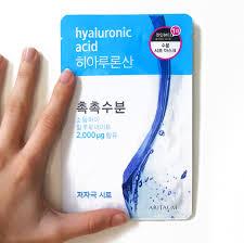 review aritaum fresh power essential hyaluronic acid mask