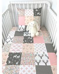 Pink And Grey Nursery Decor Spectacular Deal On Woodland Baby Blanket Woodland Baby