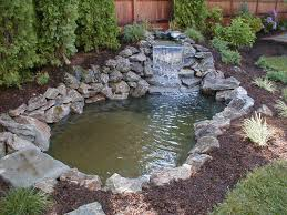 Small Backyard Ponds And Waterfalls by Waterfall Design Ponds And Poolscapes Long Island Ny Kito