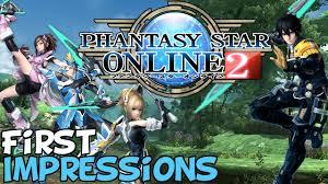 Phantasy Star Maps Phantasy Star Online 2 First Impressions
