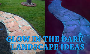 glow in the glow in the landscaping diy