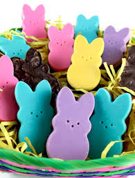 peeps easter basket peeps chocolate candy two crafting