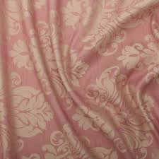 Jacquard Curtain Floral Damask Faux Silk Jacquard Curtain Upholstery Fabric