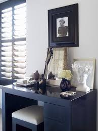 Black Vanity Set With Lights Makeup Vanity Table With Lights In Bedroom Contemporary With Black
