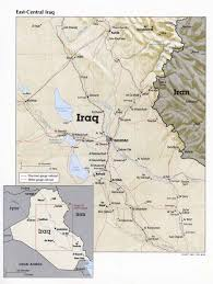 Iraq Map World by Nationmaster Maps Of Iraq 76 In Total