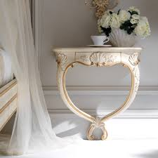 wall mounted console table high end ornate wall mounted bedside table juliettes interiors