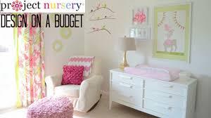 Baby Nursery Design by Design On A Budget In Baby U0027s Nursery Youtube