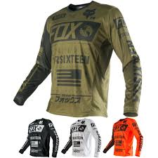 travis pastrana motocross gear fox racing nomad mens motocross off road dirt bike racing jersey