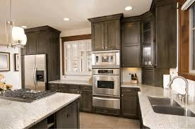 kitchen counter top designs kitchen ideas with dark cabinets white granite polished countertop