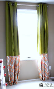 Ikea Curtain Length Ikea Hack No Sew Curtains Just A And Her Blog