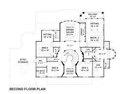 Second Floor Plan Vinius Spacious House Plans Open Home Floor Plans