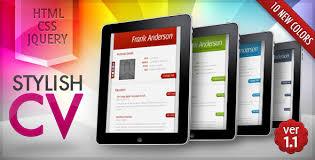 Html Resume Template Free 27 Best Html Resume Templates Wakaboom